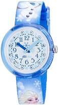 Flik Flak Girls' Analogue Quartz Watch with Textile Bracelet – FLNP023