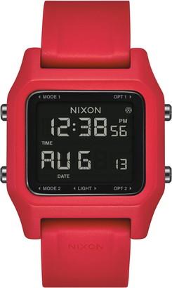 Nixon Staple Digital Silicone Strap Watch, 39mm
