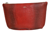 APC red Leather Clutch Bags