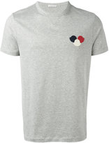 Moncler logo plaque T-shirt - men - Cotton - M