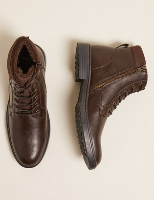 Marks and Spencer Fleece Lined Casual Boots