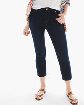 Chico's Crop Pants in Capri Indigo