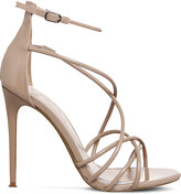 Office Angel patent strappy sandals