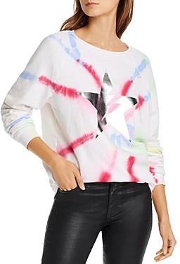 Aqua Lauren Moshi x Star Tie-Dye Sweatshirt - 100% Exclusive