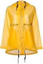 Hunter vinyl smock transparent coat - women - Polyurethane - XS