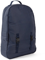 C6 Simple Pocket Back Pack Rip Stop Blue