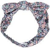 Maison Michel floral print headband - women - Cotton - One Size