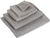 UCHINO Zero Twist Gauze Dot Towel - Grey - Bath Sheet