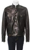 Gucci Leather Moto Jacket w/ Tags