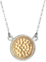 Anna Beck Women's Gili Reversible Disc Pendant Necklace
