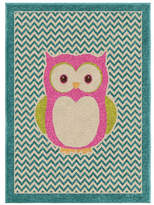 Home Outfitters Chevron Owl Kids Area Rug