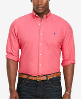 Polo Ralph Lauren Men's Big & Tall Garment-Dyed Shirt