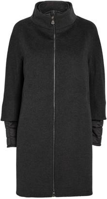 Cinzia Rocca Wool Padded-Insert Coat