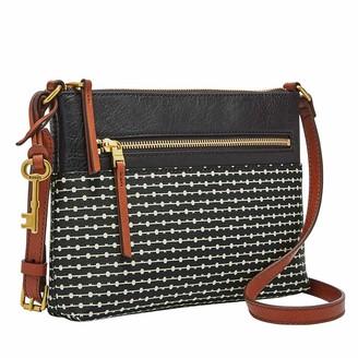 Fossil Women's Fiona PVC Small Crossbody Handbag