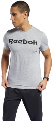 Reebok Men's Linear Graphic Tee