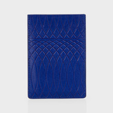Paul Smith No.9 - Blue Leather Credit Card Holder