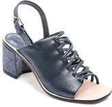Bernardo Sansa Strappy Metallic Slingback Sandals