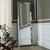 west elm Chevron Tile Floor Mirror