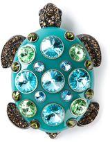 Lanvin 'Borneo' turtle brooch