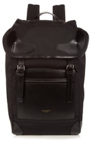 Givenchy Rider Canvas And Leather Backpack