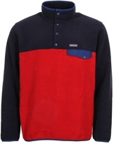 Patagonia Pagonia Snap-T Pullover Fleece 25550-CSRD Navy/Red