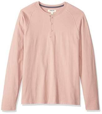 Goodthreads Long-sleeve Sueded Jersey Henley Shirt,(EU S)