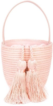 Cesta Collective Woven Tassel Shoulder Bag
