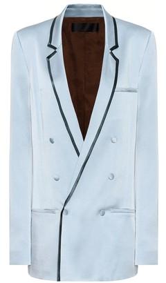 Haider Ackermann Satin-crepe blazer