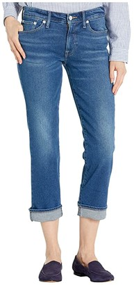 Lucky Brand Mid-Rise Sweet Straight Ankle Jeans in Secret (Secret) Women's Jeans