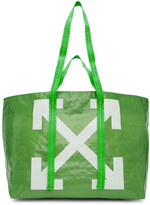 Off-White Off White Green New Commercial Tote
