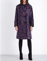 Roksanda Metallic brocade coat