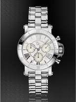 GUESS Gc Femme Watch Silver-Tone Timepiece