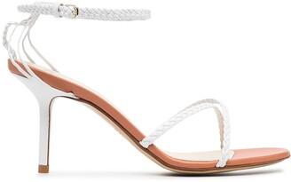 Francesco Russo rope strap 75mm sandals
