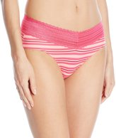 Warner's Warners Women's Pinching No Problems Lace Hipster Panty