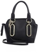 See by Chloe Paige Mini Leather Bucket Bag