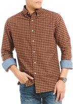 Daniel Cremieux Big & Tall Plaid Oxford Long-Sleeve Woven Shirt
