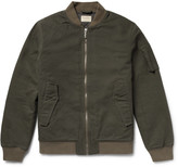 Nudie Jeans - Alexander Organic Cotton-canvas Bomber Jacket
