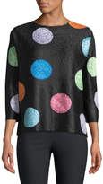 Berek Funhouse Polka Dot Sweater
