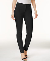Alfani Rivet-Trim Skinny Pants, Only at Macy's