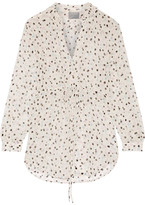 Maiyet Printed Silk-gauze Blouse