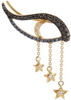 Ileana Makri Diamond, sapphire & yellow-gold ear cuff