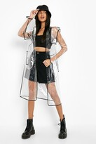 Thumbnail for your product : boohoo Longline Transparent Festival Mac
