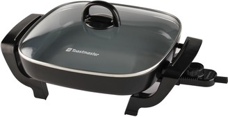 "Toastmaster 12"" Electric Skillet with Ceramic Coating"
