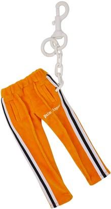 Palm Angels Track Pants Orange Velour Keyring