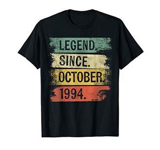 Legend Since October 1994 25 Year Old 25th Birthday Gifts T-Shirt