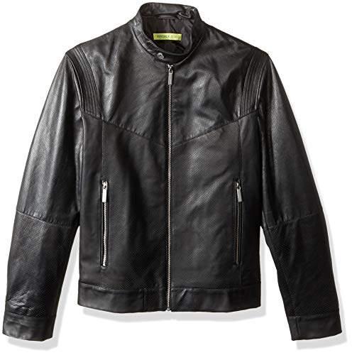 906e0d768 Men's Leather Racer Jacket
