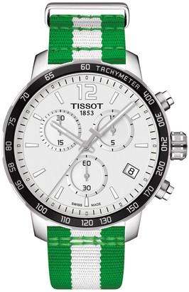 Tissot Men's Quickster Chronograph NBA Boston Celtics Watch, 42mm