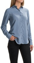 Workshop Republic Clothing Rayon Button-Down Shirt - Long Sleeve (For Women)