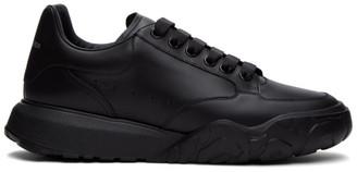 Alexander McQueen Black Low Sneakers