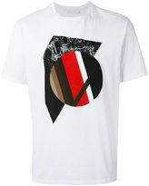 Neil Barrett graphic print T-shirt - men - Cotton - L